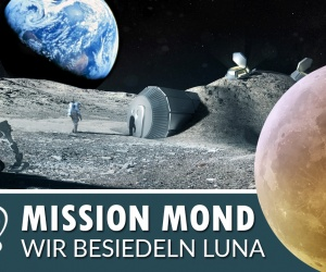 Kolonie auf dem Mond - Fast Forward Science