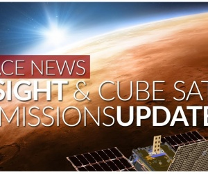 INSIGHT & Cube Sats - Missionsupdate | Space News (2018)